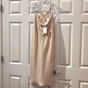 Rose petal pink NWT size S dress C/MEO Collective